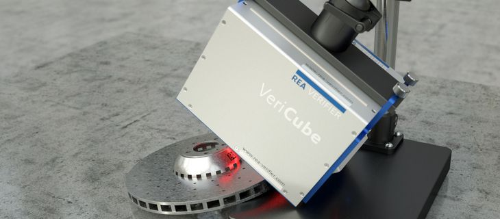 Verifier - VeriCube Stand for 3D components with irregular geometries - REA VERIFIER