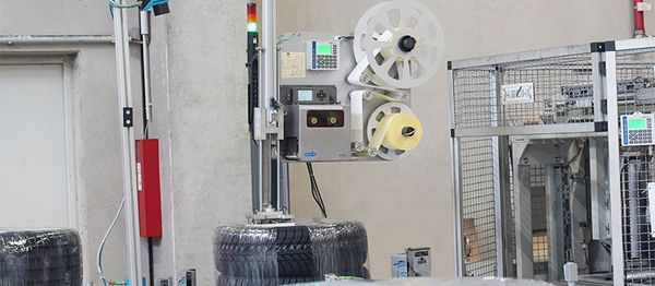 Label printer for tires - REA LABEL DS