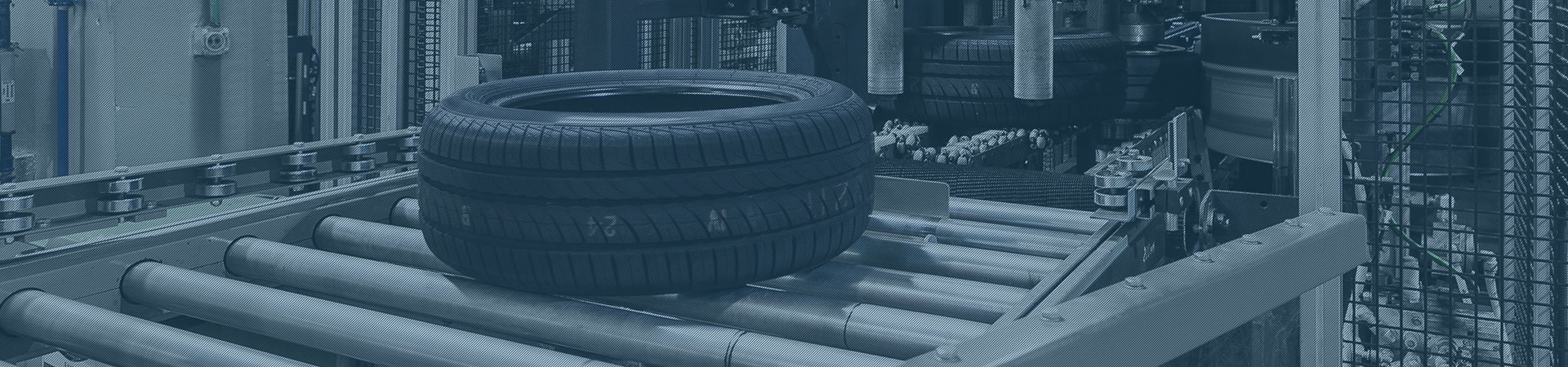 Tire print in the rubber printing industry - full size