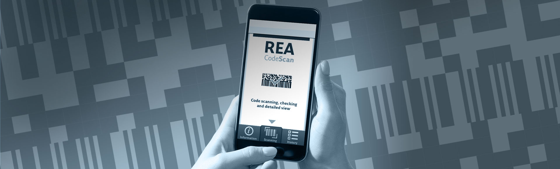 REA CodeScan App for decrypting codes - REA CodeScan App
