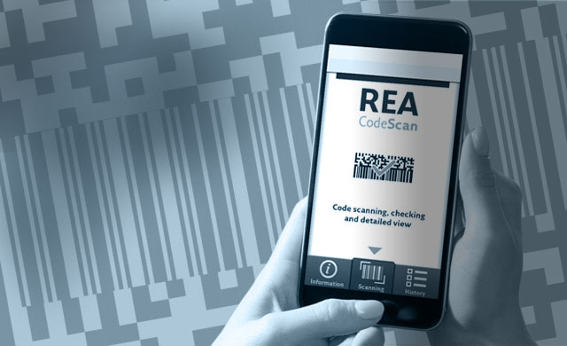 REA CodeScan App for decrypting codes - small - REA CodeScan App