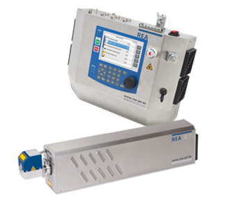 CO2 laser system with controller and laser unit - REA JET CL