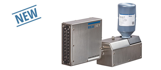 Piezo system for coding and marking on porous surfaces - REA JET GK 2.0