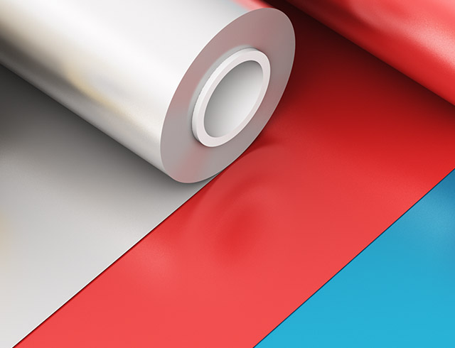 Foil printer in the plastic processing industry - small size