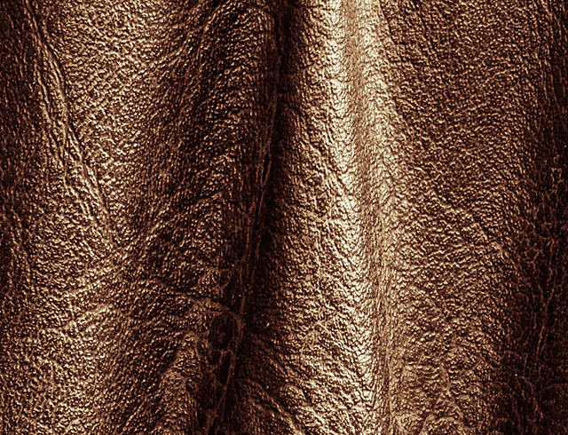 Leather printing on animal skin - small size